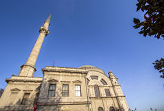 Dolmabahce mosque in Istanbul, Turkey Royalty Free Stock Photos
