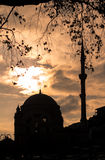 Dolmabahce mosque in Istanbul, Turkey Stock Photography