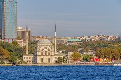 Dolmabahce Mosque Royalty Free Stock Photography