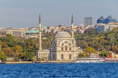 Dolmabahce Mosque Stock Photography