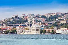 The Dolmabahce Mosque Stock Images