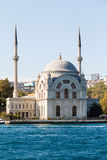 The Dolmabahce Mosque is in Istanbul, Turkey. Royalty Free Stock Images