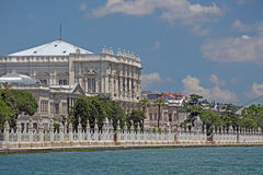 The Dolmabahce Ottoman Palace, Stock Images