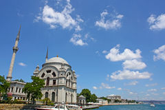 The Dolmabahce Ottoman Palace, Royalty Free Stock Photography
