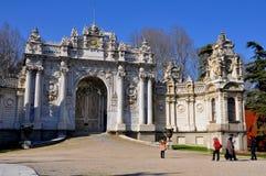 Dolmabahce pałac zdjęcie royalty free