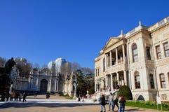 Dolmabahce pałac fotografia stock