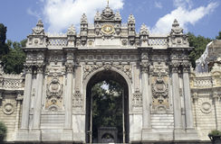 dolmabahce pałacu Zdjęcia Royalty Free