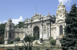 Dolmabahce palace. A gate of Dolmabahce palace in Istanbul, Turkey stock images