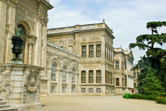 Dolmabahce palace Stock Image