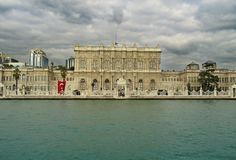 Dolmabahce palace Stock Images
