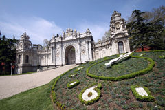 Dolmabahce Palace. In Istanbul,turkey stock photos