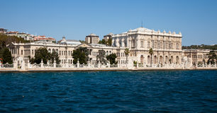 Dolmabahce palace. At the istanbul turkey Stock Photos
