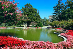 Dolmabahce Palace. In Istanbul,Turkey royalty free stock photography