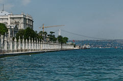 Dolmabahce Palace Royalty Free Stock Photography