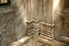 Dolmabahce Palace. Marble Bathroom - Dolmabahce Palace Royalty Free Stock Images