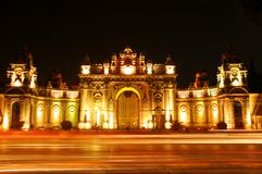 Dolmabahce Palace. The entrance of Ottoman Empires'  Dolmabahce palace, Istanbul, Turkey Royalty Free Stock Images