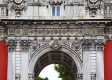 Dolmabahce Palace Architectural Details, Istanbul Stock Images