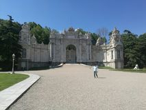 dolmabahce stock images