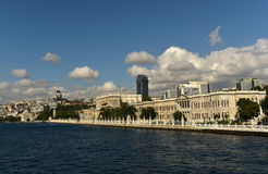 Dolmabahce Palace. At besiktas disctrict Royalty Free Stock Photo