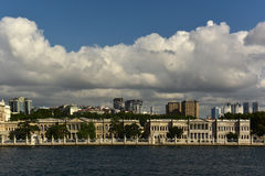 Dolmabahce Palace. At besiktas district Royalty Free Stock Photography