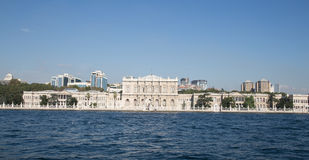 Dolmabahce Palace in Besiktas, Istanbul Royalty Free Stock Photos