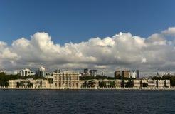 Dolmabahce Palace. At besiktas turkey Stock Image