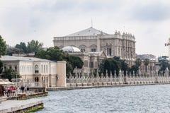 Dolmabahce Palace Bosphorus Istanbul Stock Photos