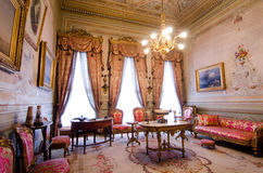Dolmabahce Palace, Cabinet of Mustafa Kamal Ataturk Royalty Free Stock Images