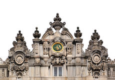 Dolmabahce Palace Details, Istanbul Royalty Free Stock Photography