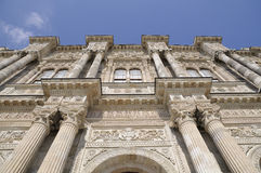 Dolmabahce Palace gate Royalty Free Stock Photos