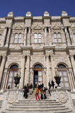 Dolmabahce Palace gate Stock Image