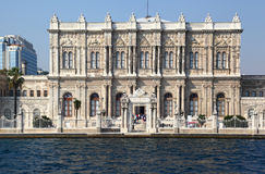 Dolmabahce Palace Grounds Royalty Free Stock Photography