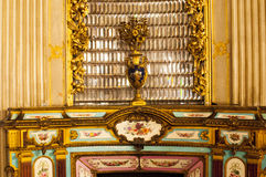 Dolmabahce palace interior, Istanbul Stock Photos