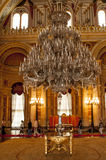 Dolmabahce palace interior, Istanbul Stock Image