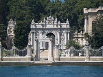 Dolmabahce palace in Istanbul. Turkey Royalty Free Stock Photography