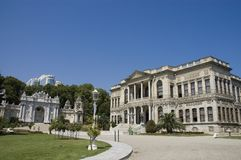 Dolmabahce Palace at Istanbul Stock Photos