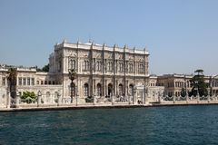 Dolmabahce Palace in Istanbul Stock Photos