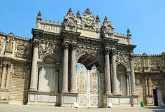 Dolmabahce Palace in Istanbul Royalty Free Stock Images