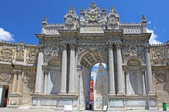 Dolmabahce Palace in Istanbul Stock Images