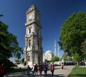 Dolmabahce Palace in Istanbul Royalty Free Stock Image