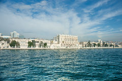 Dolmabahce Palace, Istanbul, Turkey. Stock Photos