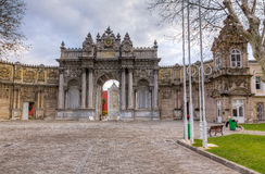 Dolmabahce Palace, Istanbul, Turkey Royalty Free Stock Image