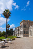 Dolmabahce Palace at Istanbul Turkey Royalty Free Stock Image
