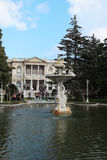 Dolmabahce Sarayi palace in Istanbul Royalty Free Stock Photography