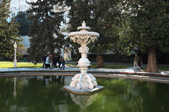 Dolmabahce Sarayi palace in Istanbul Stock Images
