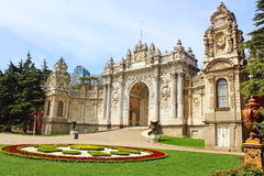 Dolmabahce Palace in Istanbul, Turkey Royalty Free Stock Photos