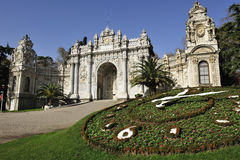 Dolmabahce palace, Istanbul, Turkey Stock Photography