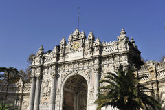Dolmabahce palace, Istanbul, Turkey Royalty Free Stock Photography