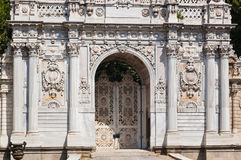 Dolmabahce Palace at Istanbul Turkey Stock Image