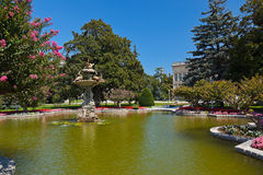 Dolmabahce Palace at Istanbul Turkey Stock Photo